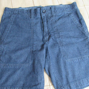 Banana Republic Aiden Utility Shorts 32W